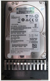 HPE 873036-001 1.2TB 10000RPM 2.5inch Small Form Factor Dual Port Digitally Signed Firmware SAS-12Gbps Standard Carrier Hot-Swap Enterprise Hard Drive for Proliant Generation1 to Generation7 Servers