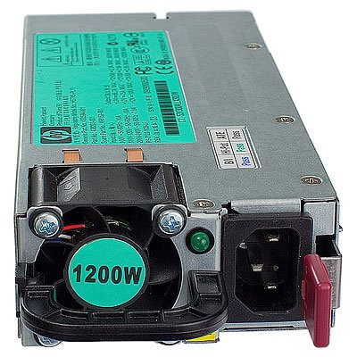 HP 579229-001 1200Watt Common Slot Platinum Plus 94% High Efficiency Hot-Swap Power Supply for ProLiant Server