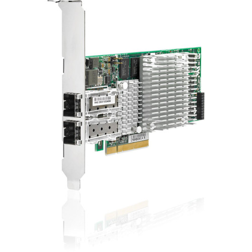 HPE 468332-B21 10Gbps Dual Port PCI Express - 2.0 x8 Gigabit Ethernet Wired Network Adapter for Proliant Server