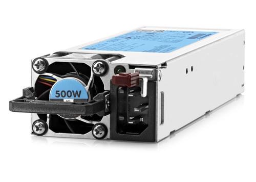 HPE 720478-B21 500 Watt Flexi Slot High Efficiency 80 Plus Platinum Plug-In-Module Hot-Swap Redundant AC Power Supply for Proliant Generation 9 Server
