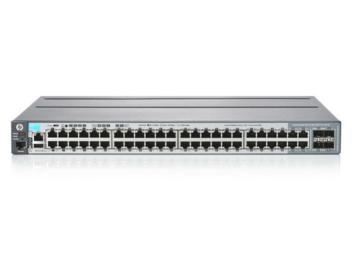 HPE Procurve J9728A 2920 48Ports 2920-48G Managed L3 44 x 10/100/1000 + 4 x combo SFP Gigabit Ethernet Managed Stackable Switch