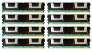 HPE 495604-B21 64GB (8x8GB) 667MHz 240-pin CL5 ECC Registered PC2-5300 Fully Buffered DIMM DDR2 SDRAM Memory Kit for Generation5 Proliant Server
