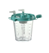 Disposable 1,200cc Suction Canister by Bemis