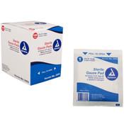 Sterile Gauze Pads - 3'' x 3'' - 100/Bx
