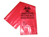4 Gallon Bio-Hazard Waste Bags - 50/Pack