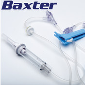 Needleless IV Drip Sets with Clearlink and Interlink Ports by Baxter
