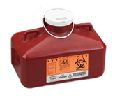 4.8 Quart Sharps Container #184R  by Medical Action Industries