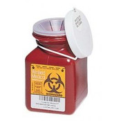 0.7 Quart Sharps Container #185S  by Medical Action Industries