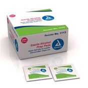 Alcohol Prep Pad Sterile - Medium - 200/Box