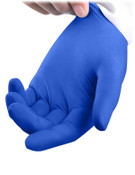 Solstice Dark Blue Nitrile Gloves - 100/Bx