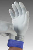 LifeStar Extended Cuff Nitrile Gloves by Microflex