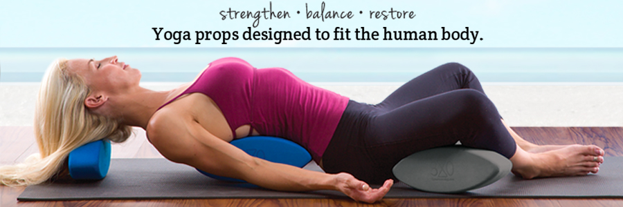 Ergonomic Yoga Blocks by Three Minute Egg