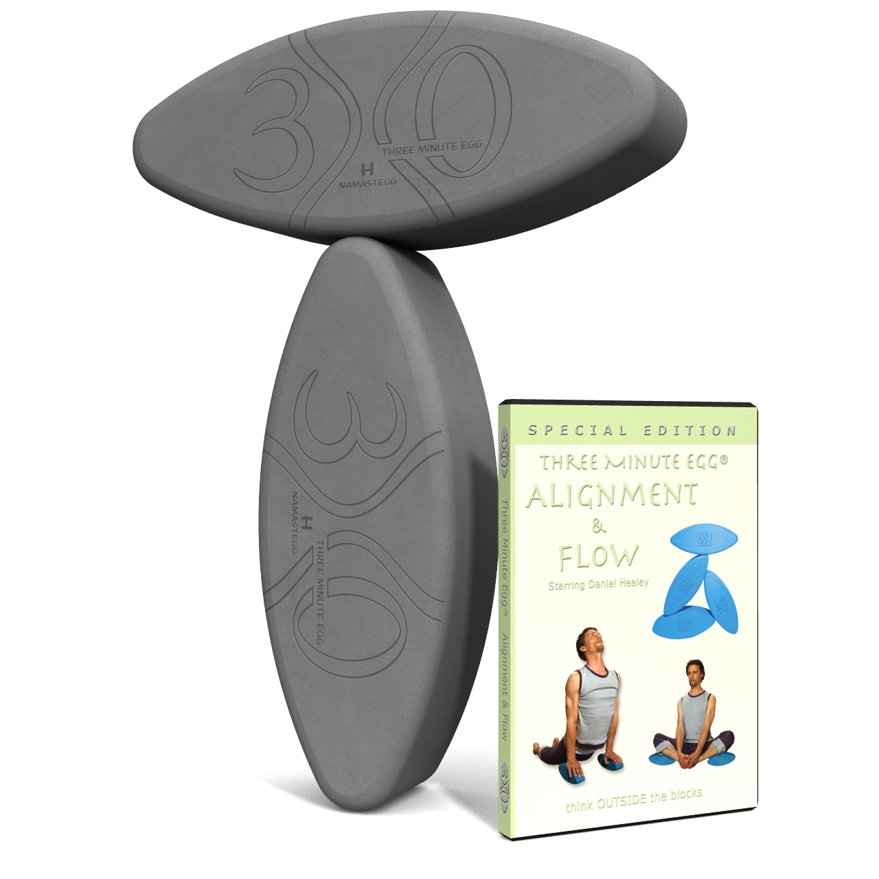 yoga gifts - ergonomic yoga blocks by Three Minute Egg