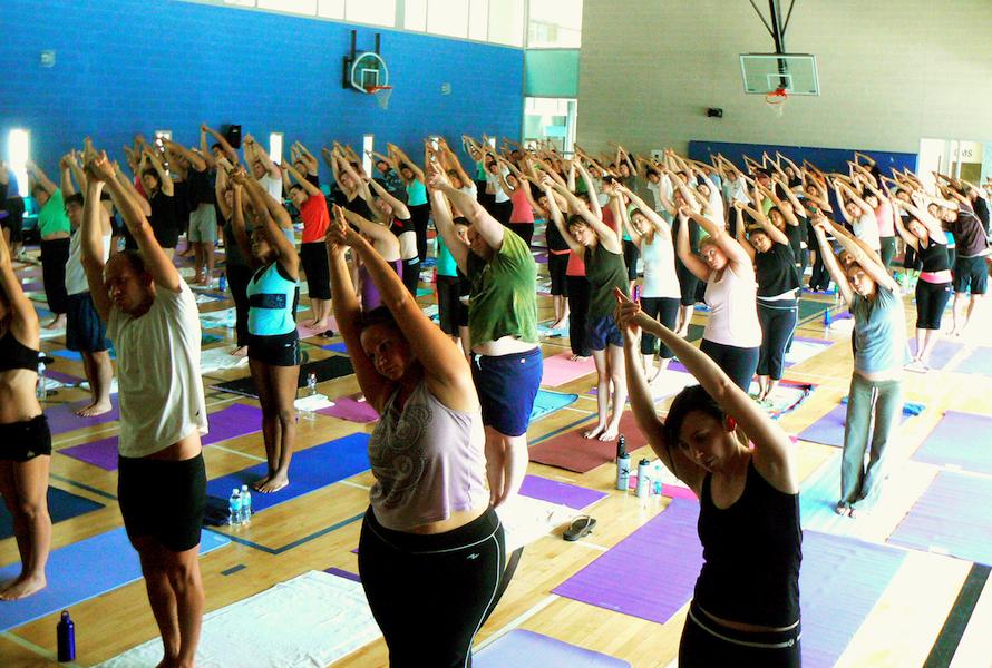 Teaching Group Yoga Classes