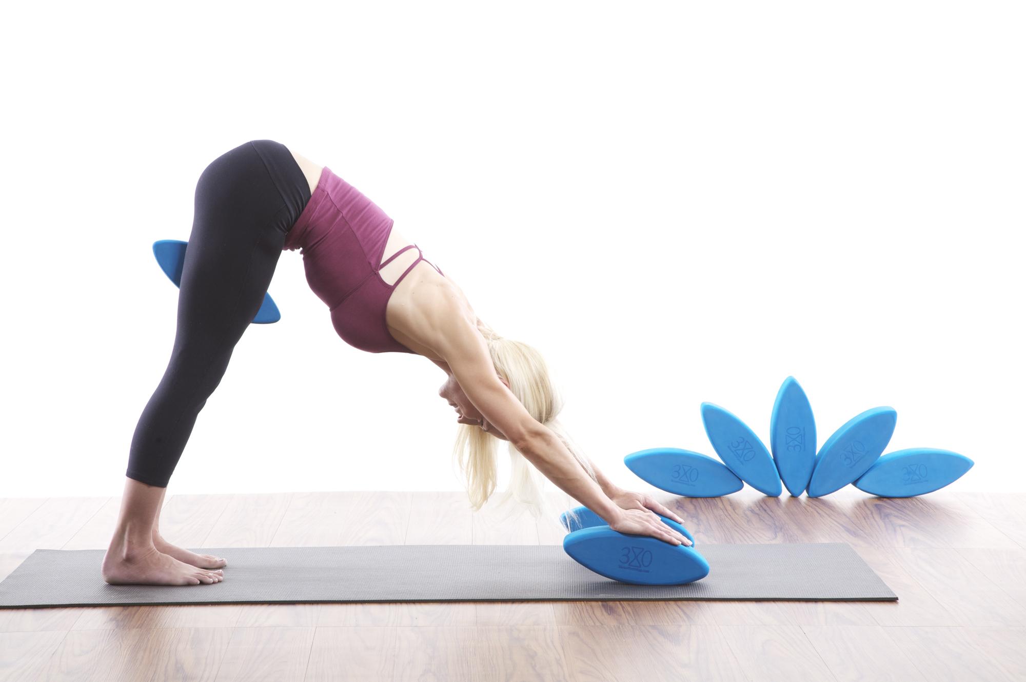 Using Ergonomic Yoga Blocks By Three Minute Egg To