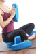 Ergonomic yoga blocks by Three Minute Egg ® -  Sukhasana, Easy Seated Pose