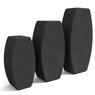 N.Y.O.B. Not Your Ordinary Block! Yoga Block Side View Charcoal