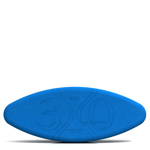 Ergonomic Yoga Block by Three Minute Egg - Eco Friendly - Blue