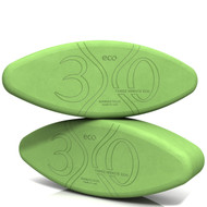 Biodegradable foam yoga block set Eggsecutive Travel Pack by Three Minute Egg ® in color Green