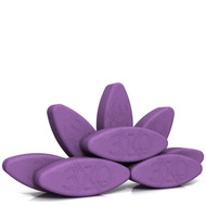 Biodegradable foam yoga block set Egg is Enough by Three Minute Egg ® in color Purple