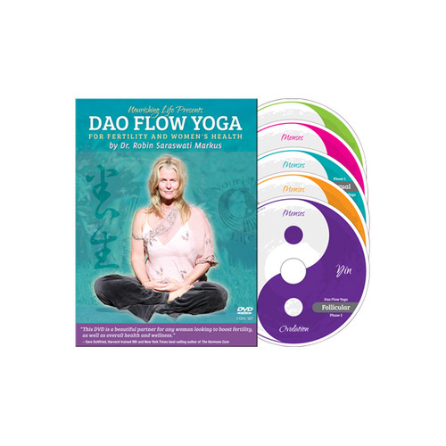Yoga DVD - Dao Flow Yoga for Fertility and Women's Health with Dr. Robin Saraswati Markus