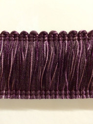 "2"" BRUSH FRINGE-2/29-27     PLUM & PURPLE"
