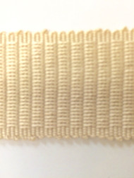 "1.5"" COTTON GIMP HEADER BRAID-5/2             CREAM"
