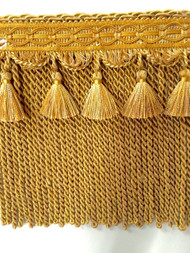 "9"" BULLION TASSEL FRINGE-9/11-12            GOLD"