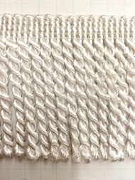 "2.5"" BULLION FRINGE              WHITE"