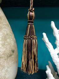"6.5"" Imperial Key Tassel       KT-20/8-3-47       Brown/Beige & Black"