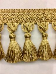 """3.5"""" Tassel Fringe (Antique Gold) TF-5/12"""