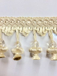 "3"" ONION TASSEL FRINGE -20/2     CREAM"