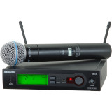Shure SLX24/BETA87A Handheld Wireless System