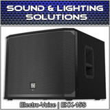 "Electro Voice EV EKX-15S Passive 15"" Subwoofer Loudspeaker 1600W"