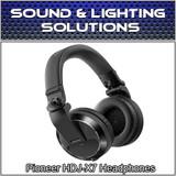 Pioneer HDJ-X7 Professional Over-Ear DJ Headphones w/ Detachable Cables (Black)