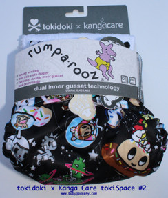 tokidoki x Kanga Care tokiSpace one size pocket diaper #2