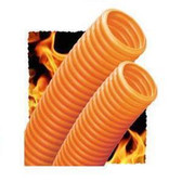 "Innerduct Plenum 1.25"" Orange W/ Tape 100' Coiled In Box"