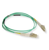 Fiber 10G aqua 50/125 LC/LC Duplex 2 Meter, ICC