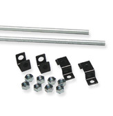 Threaded rod ceiling kit, 2x 6' rods + brackets, ICC