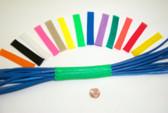 """Cable Wrap, 0.25"""" Neon Red, PET, 200' Per Mini Spool"""