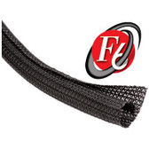 "Cable Wrap Split F6 1/2"" Black PET, 150' Per Box"