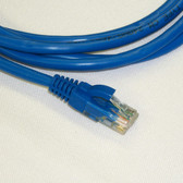 UTP 14' Blue Patch Cable With Flexible Boots CAT6 568B