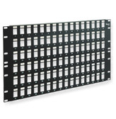 "Blank Patch Panel 128 Port 14"" (8U) High"
