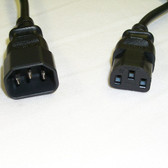 Power Cord 6' IEC 60320-C14 To IEC 60320-C13