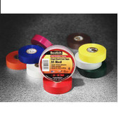 "Vinyl Tape 35, Yellow Color Tape 3/4"" x 66'"