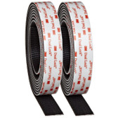 "3M Dual Lock TB3550 250/250 1"" x 10' Roll Black"