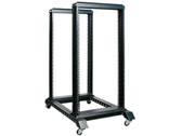 iStarUSA WO22AB 22U 4 Post Open Frame Rack