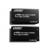 HDMI Extender Kit, support HDMI1.3v & 1.2 signal (10.2Gbps/deep color 36bit/xv-YCC/1080p24fs/dts-HD) for 200ft transmit via CAT5E/6/7 LAN cable.