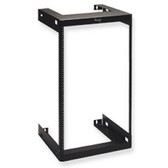 "Wall Mount Rack 19"" W x 56.25"" H x 18"" D Black, 30U ICC"