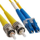 Fiber LC/ST SM (Single Mode) Duplex  3 Meter  9/125